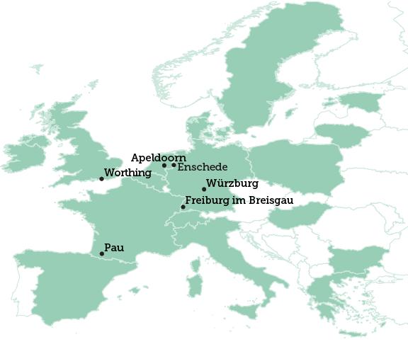 Worthing map