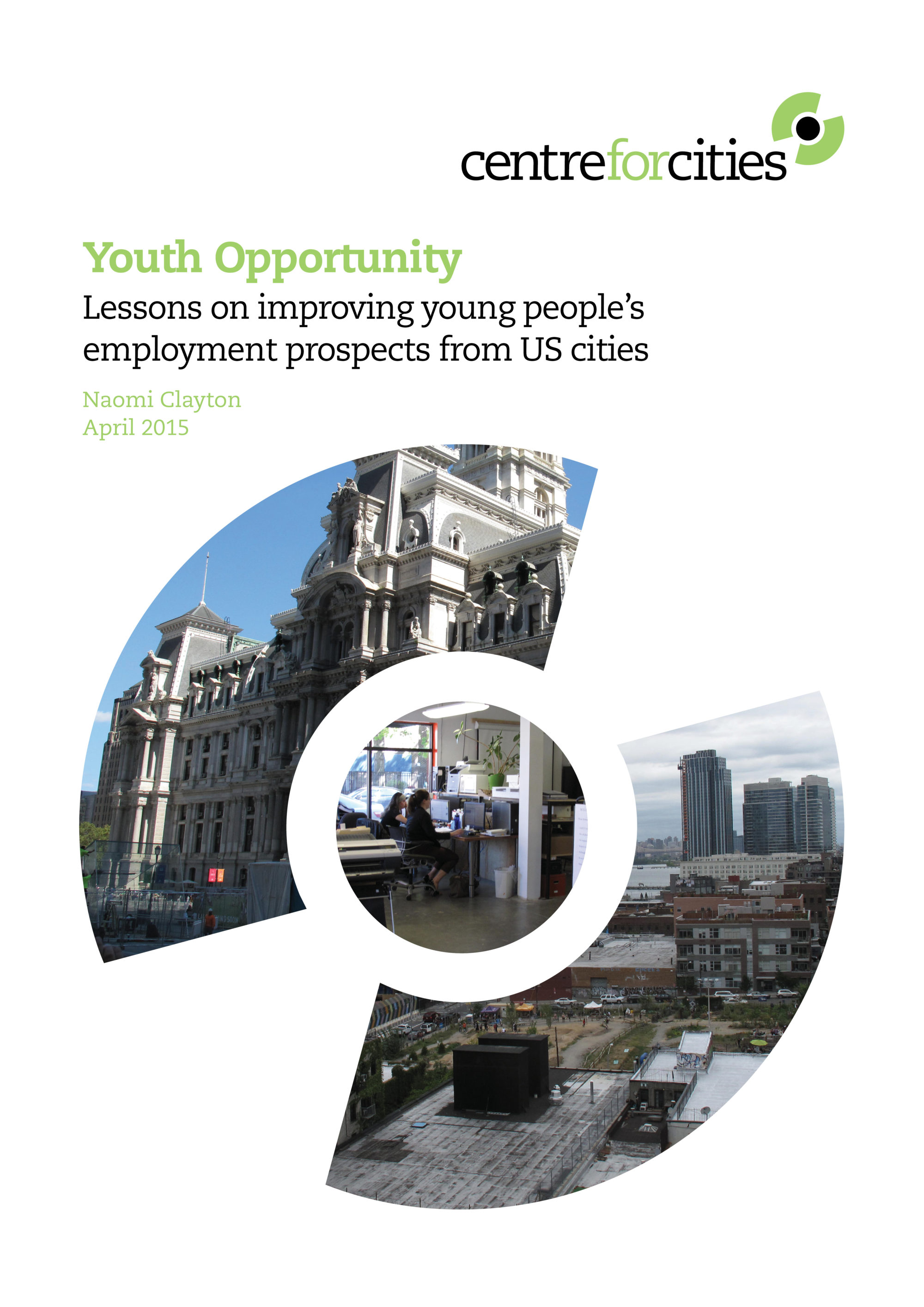 Improving employment outcomes for young people – the importance of