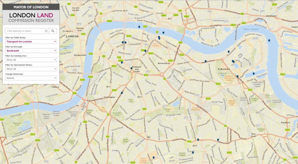 Southwark Public Assets