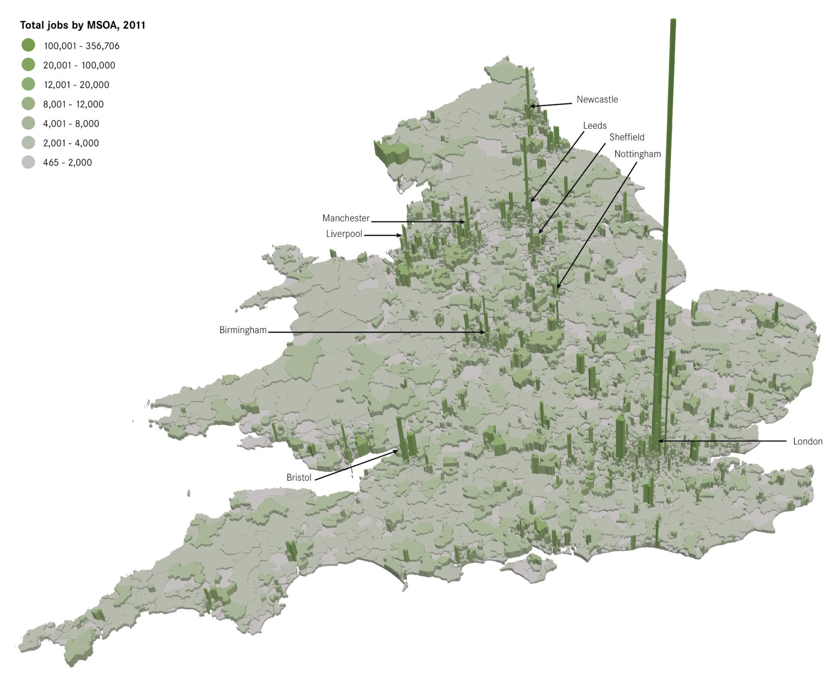 Map Of England Manchester.What The Geography Of Jobs In England And Wales Tells Us About The