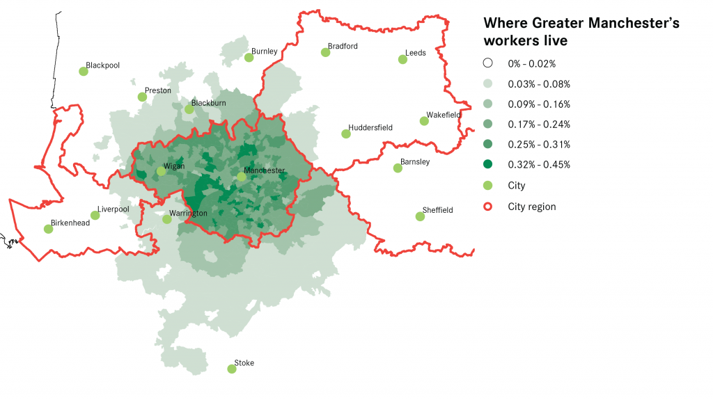 Greater Manchester All Commuting