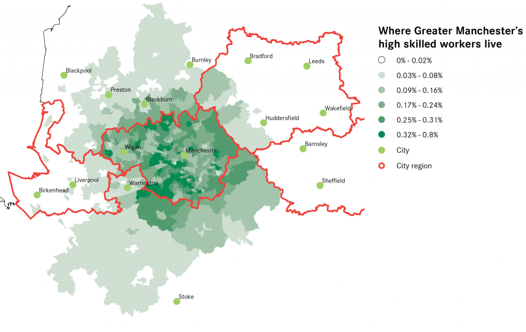 Greater Manchester High Skill Commuting