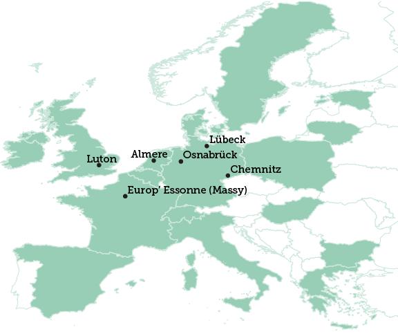 Luton map