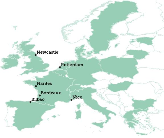 Newcastle map