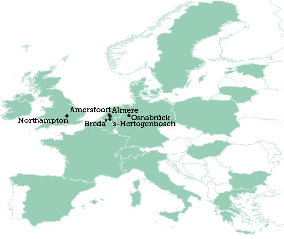 Northampton map