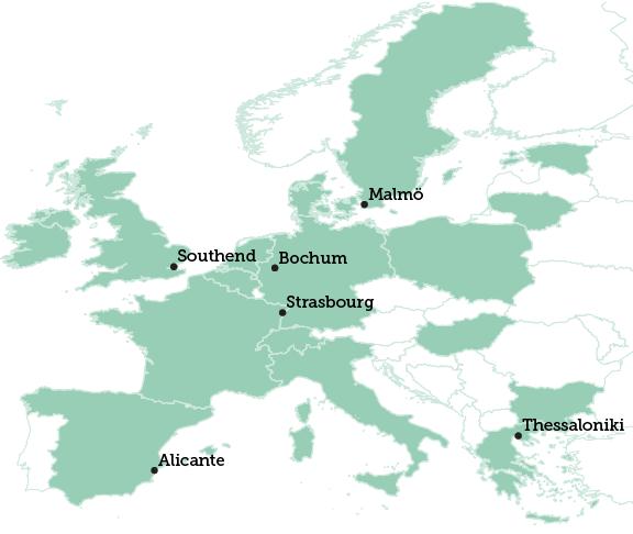 Southend map