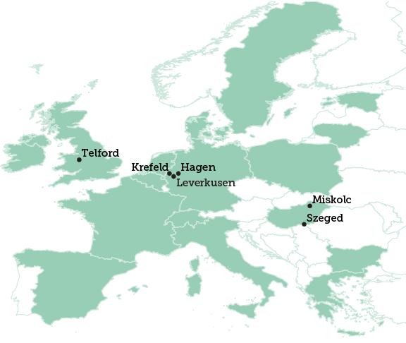 Telford map