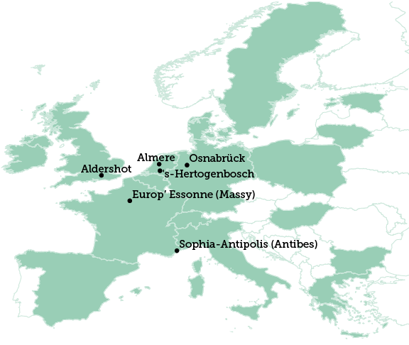 Aldershot map