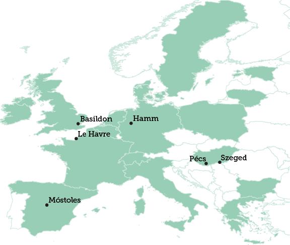 Basildon map