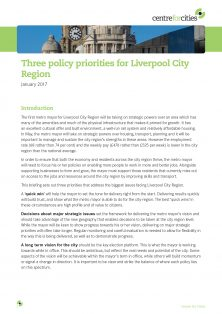 17-01-25 Three Policy Priorities for Liverpool City Region
