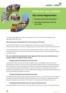 City centre regeneration