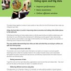 Open data tile