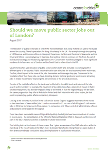 Tile - Should we move public sector jobs out of London