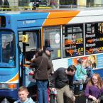 Liverpool bus stop