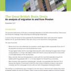 The Great British Brain Drain - Preston